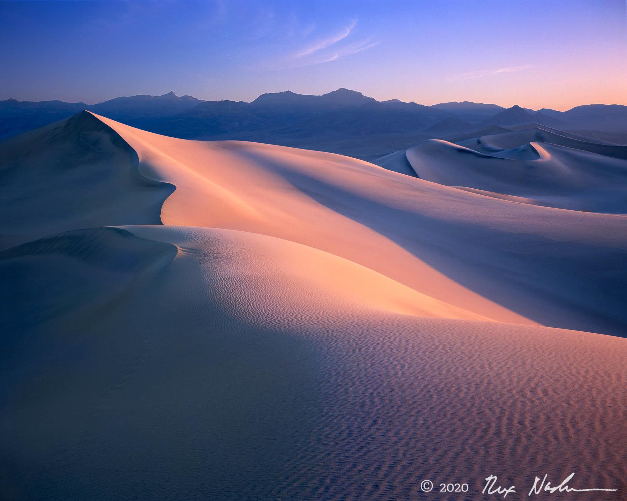 Sunrise, Dunes - Death Valley