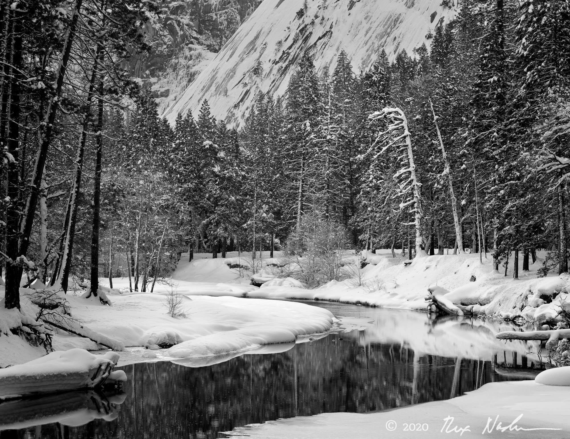 Bend - Merced River, Yosemite