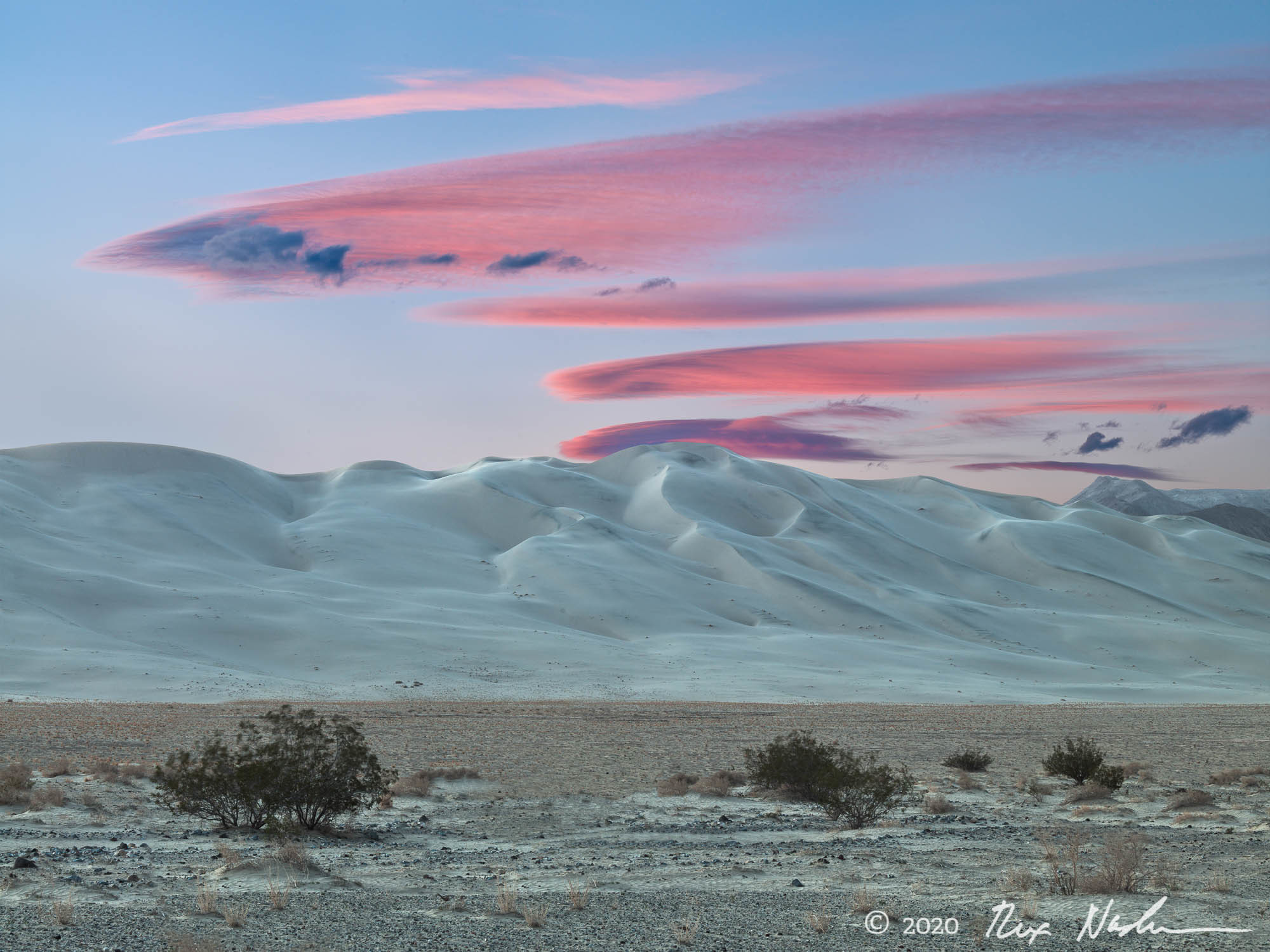 Cloudscape - Death Valley