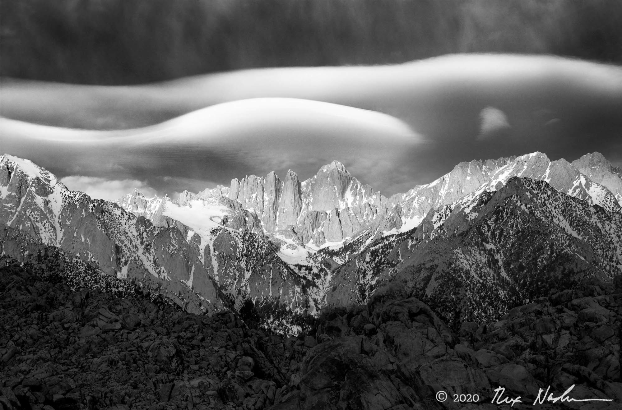 Wave, Mt. Whitney - High Sierra