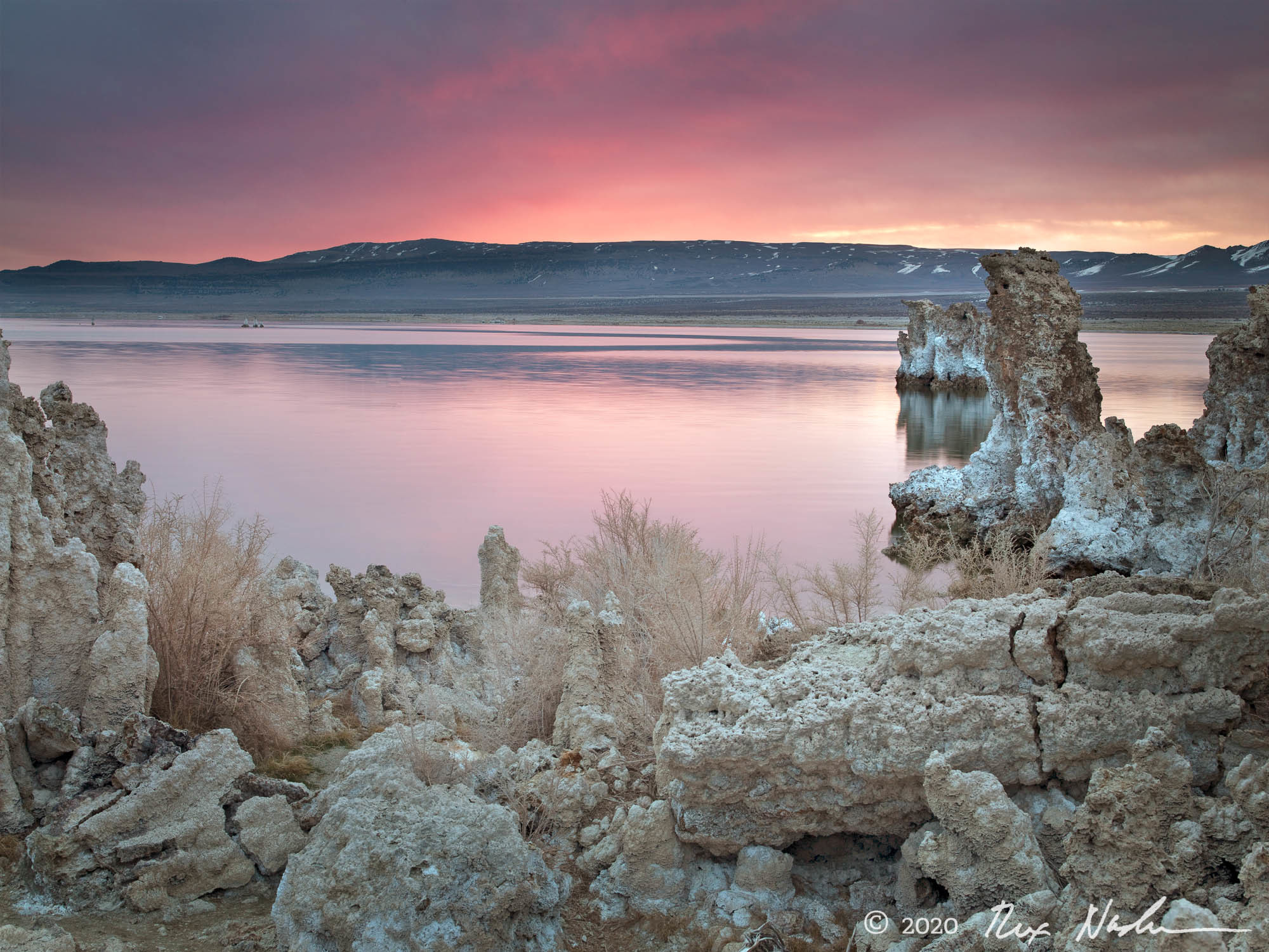Shades of White - Mono Lake, CA