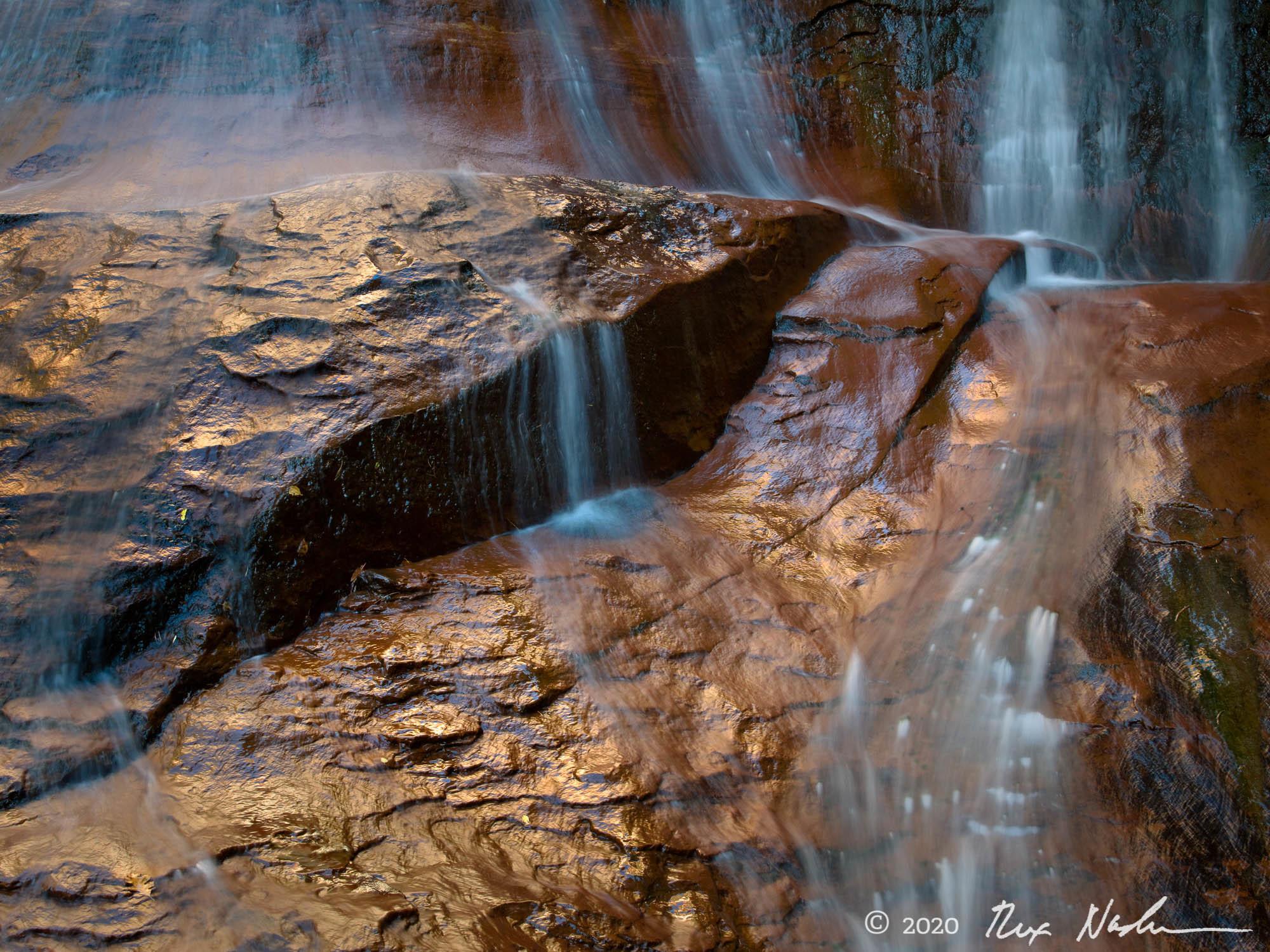Chocolate - Sandstone, Taylor Creek, Zion NP