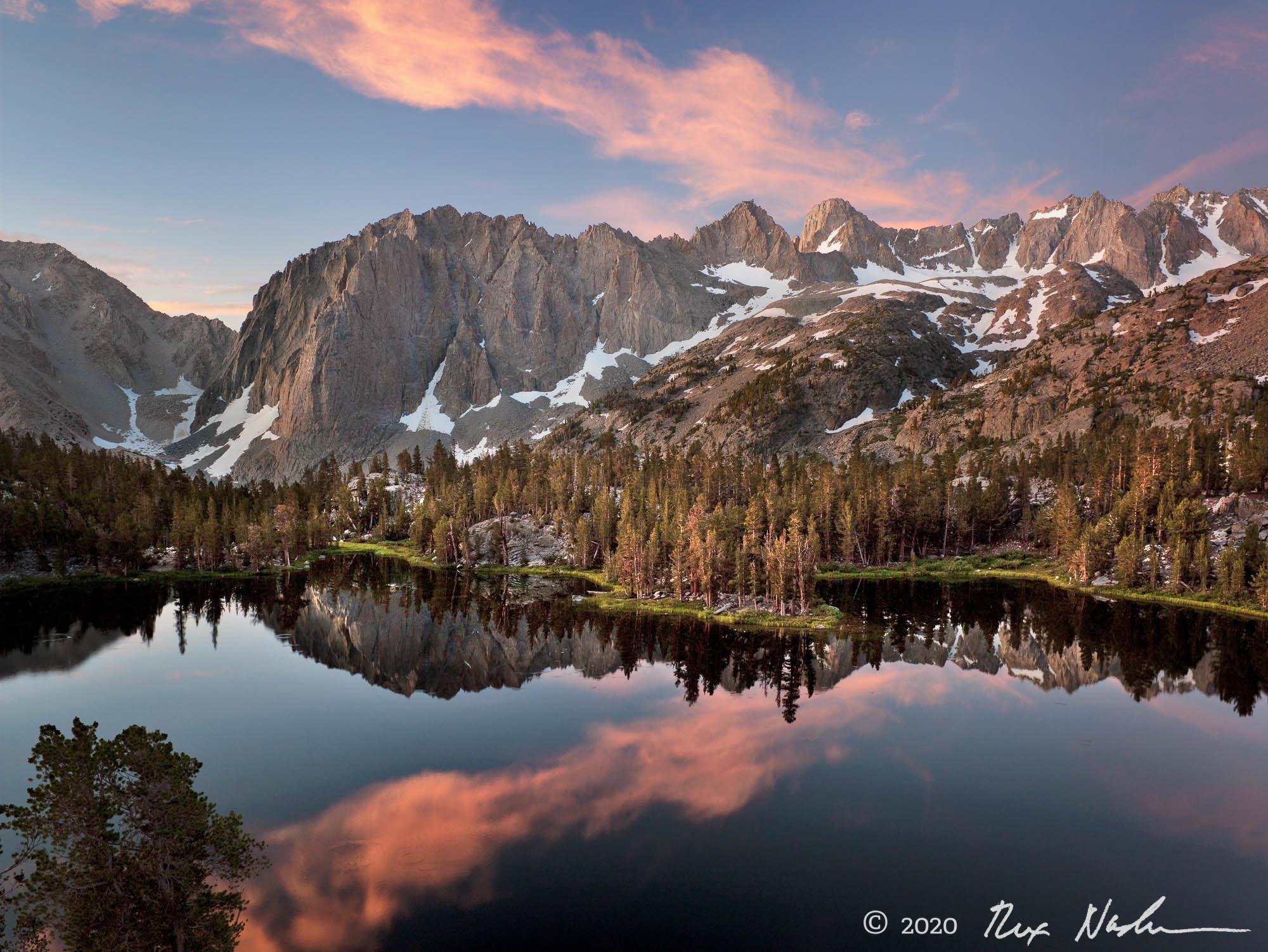 Iridescence - Palisade Glacier Area, High Sierra