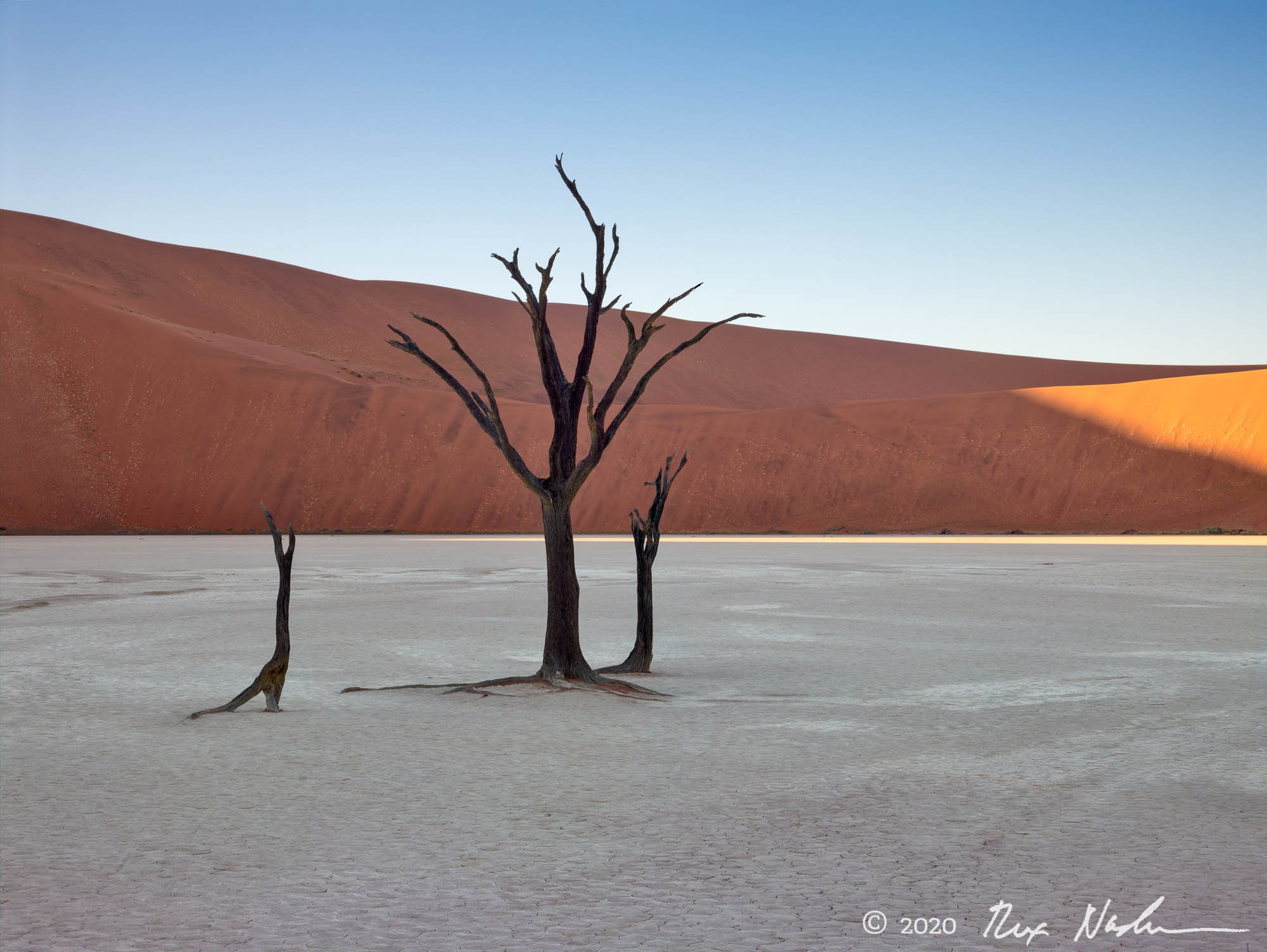 Blade of Sun - Namibia, Southern Africa