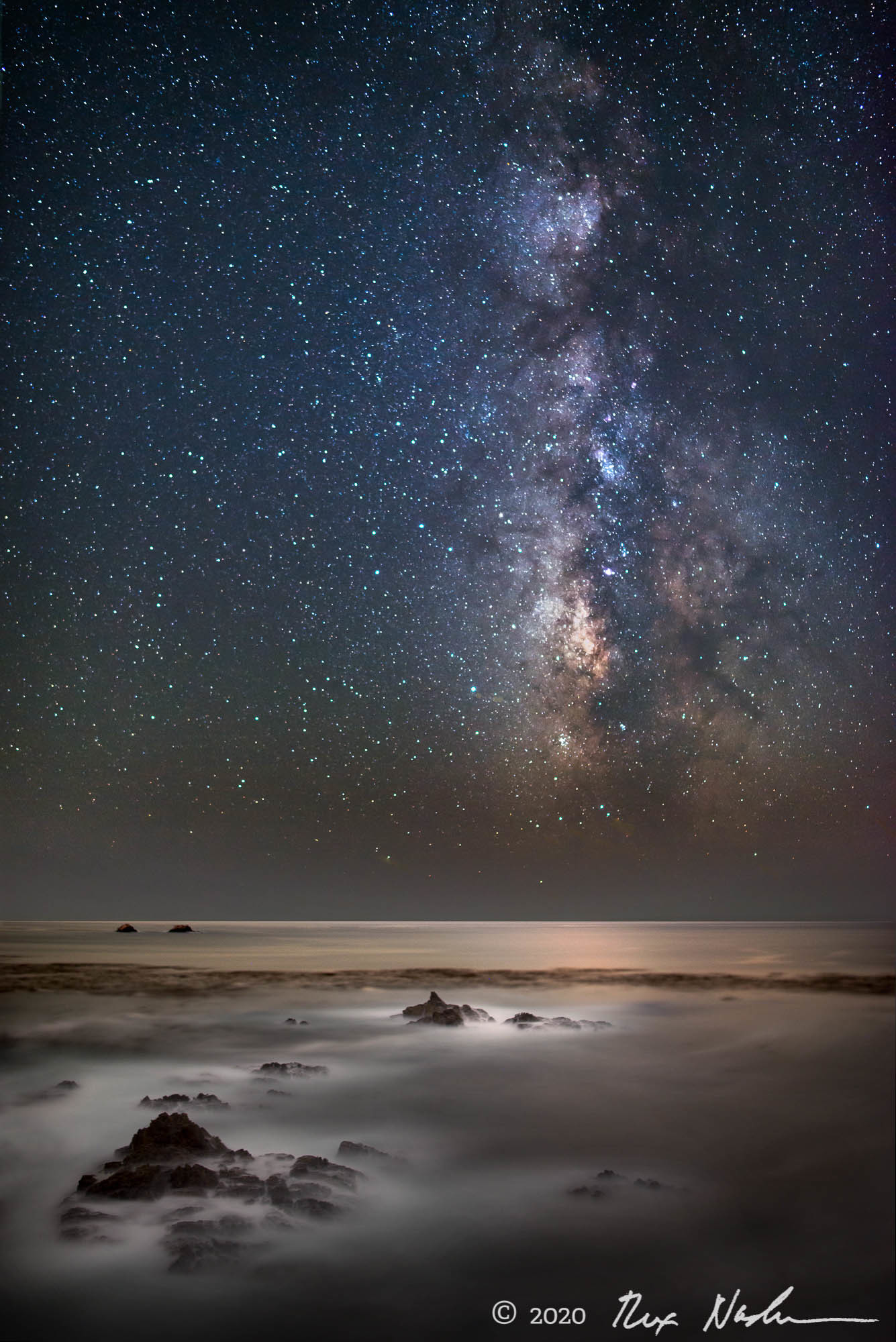 End of Days - Milky Way, Garrapata State Park, CA