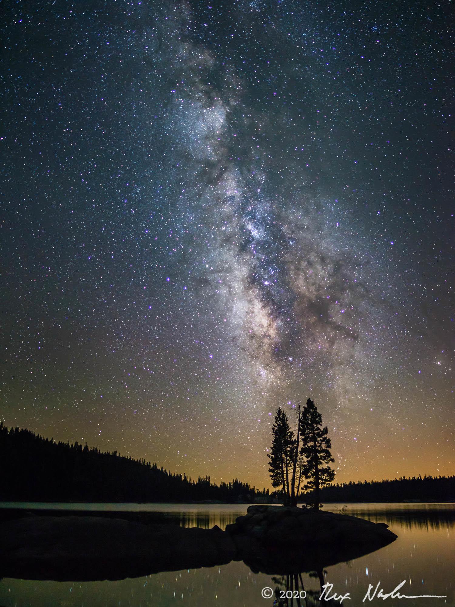 Silhouette - Lake Alpine