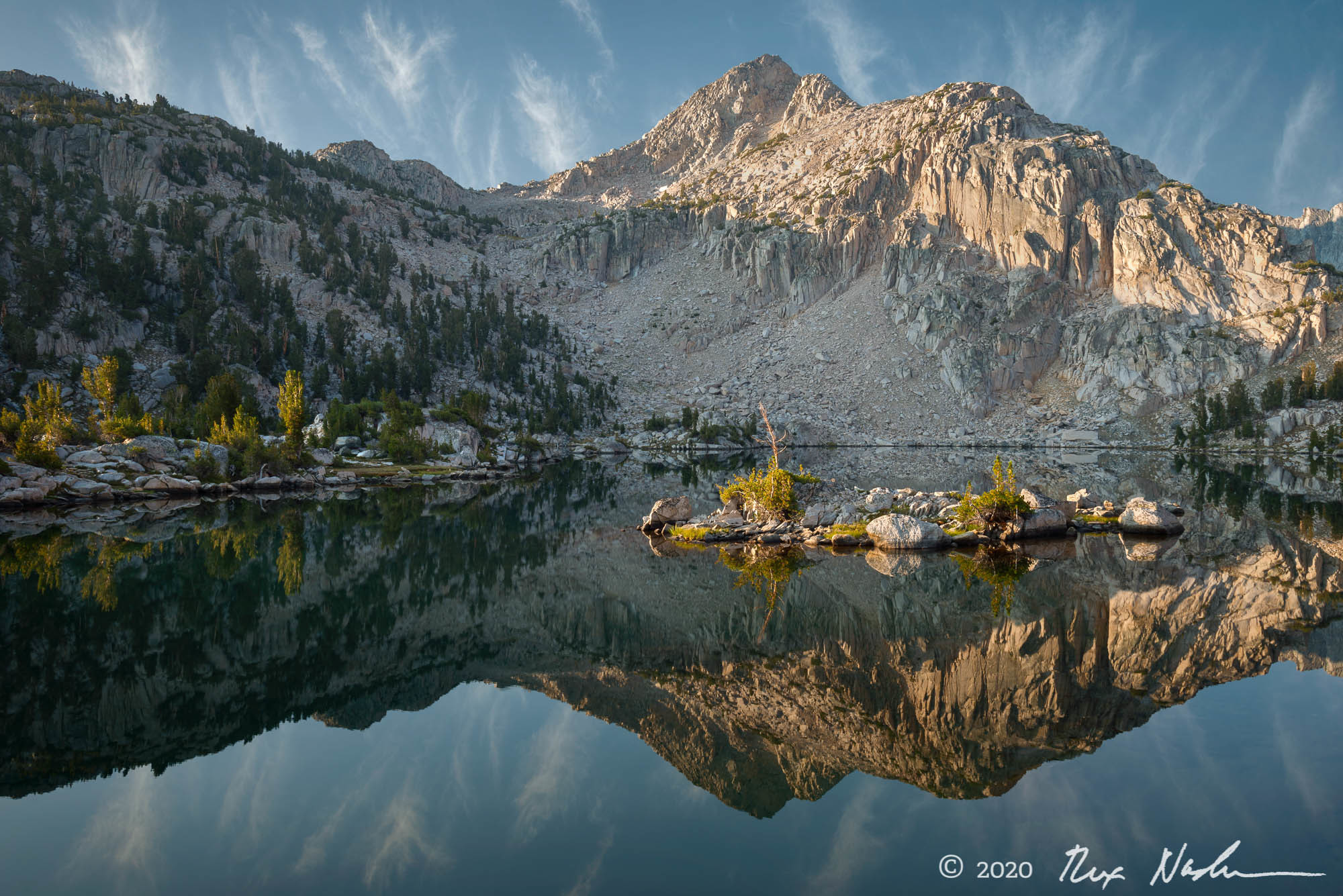 Islands in the Sun - High Sierra, King's Canyon NP