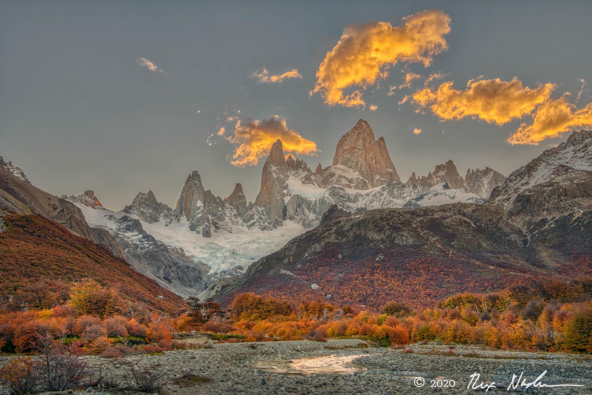 Cloud Cover - Near El Chalten, Argentina